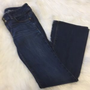 American Eagle jeans size 4 boot cut  stretch